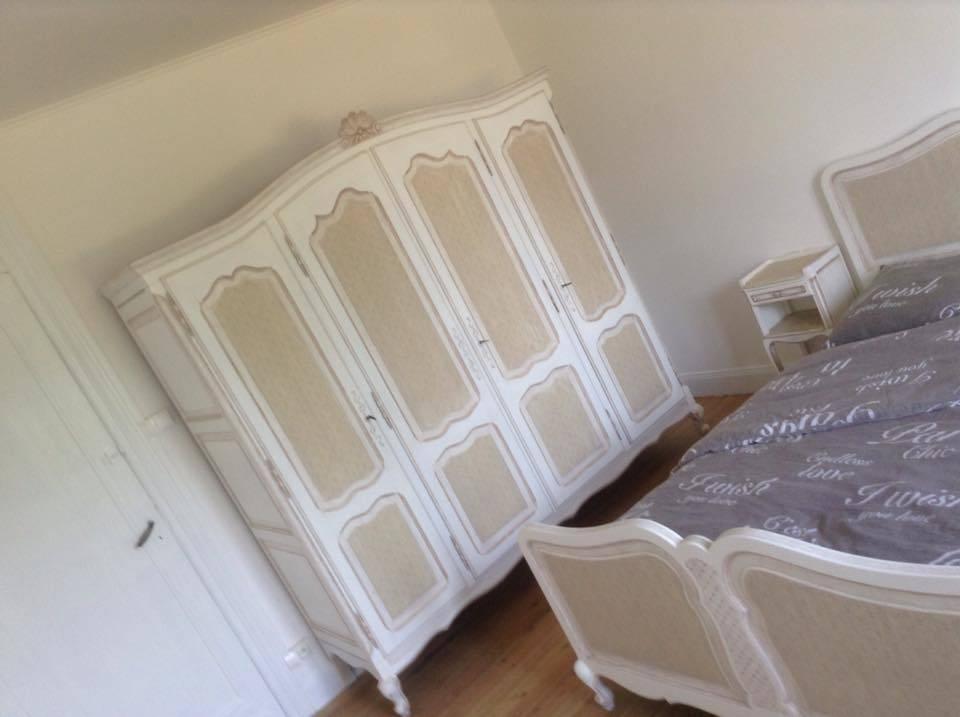 Chambre complète Régence polychromée   Puces Privées