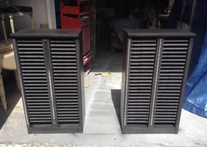 2 casiers imprimerie anciens | Puces Privées