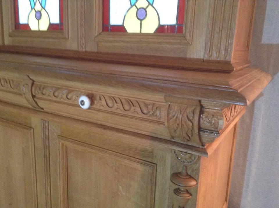 Vaisselier Renaissance ca 1920 transformé et restauré | Puces Privées