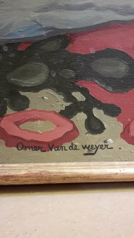 tableau d omer van de weyer | Puces Privées