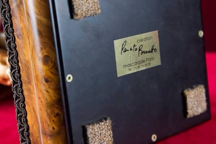 Le Joueur de Violon de Boaretto milieu XXème   Puces Privées
