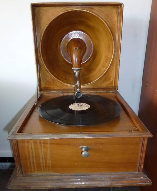 Gramophone Pathe Reflex 1917 | Puces Privées