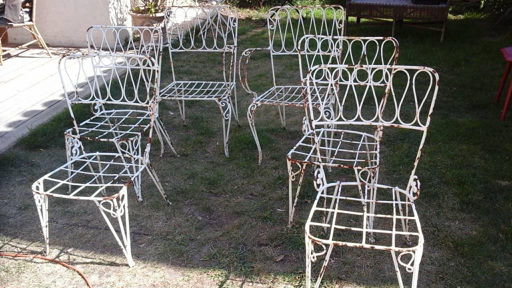 chaises de jardin   Puces Privées