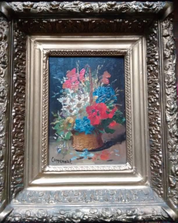 Paire de tableaux par Edmond Van COPPENOLLE | Puces Privées