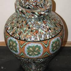 lot de céramique   de jean  Gerbino  Vallauris   Puces Privées