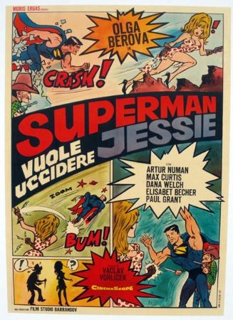 affiche cinéma Superman,qui veut tuer Jessie, Affiches anciennes (cinéma, theâtre, publicitaire), Image | Puces Privées