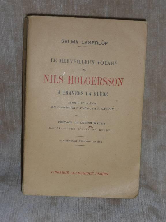 No -245 - Le merveilleux voyage de Nils Holgersson à travers la Suède . | Puces Privées