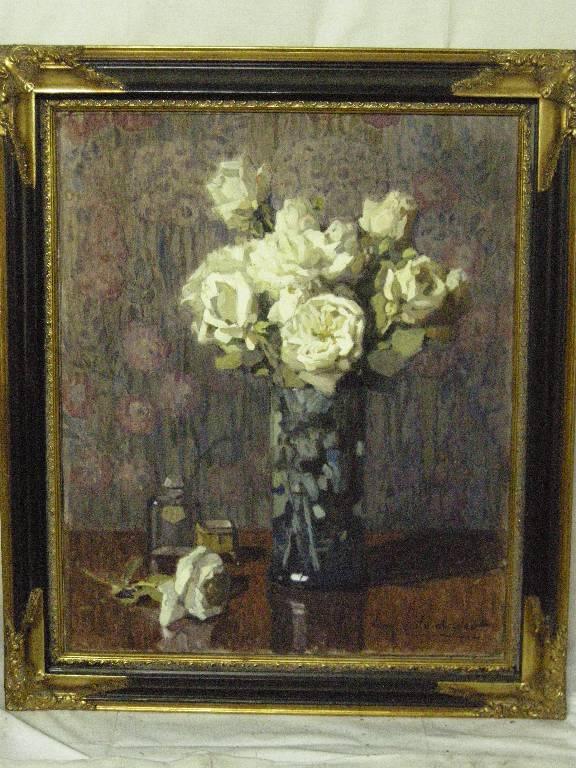 Grand bouquet de fleurs par SCHLUMBERGER   Puces Privées