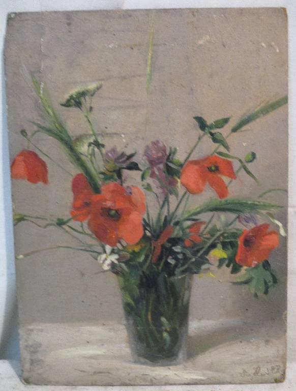 « Bouquet dans un vase » par SIZELIN | Puces Privées