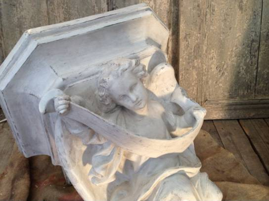 Paire de stèles d'Église angéliques | Puces Privées