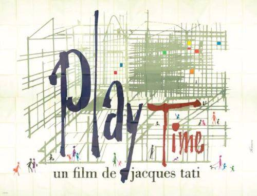 Playtime.400x300 cm.originale 1967.Jacques Tati | Puces Privées