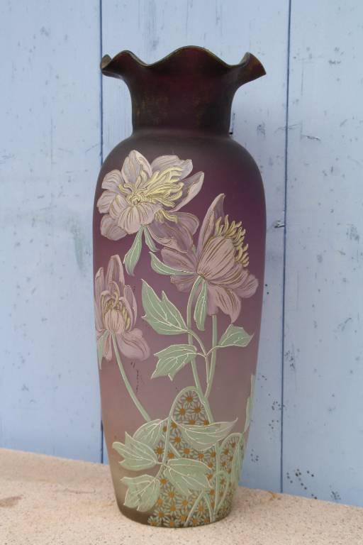 grand vase émaillé | Puces Privées