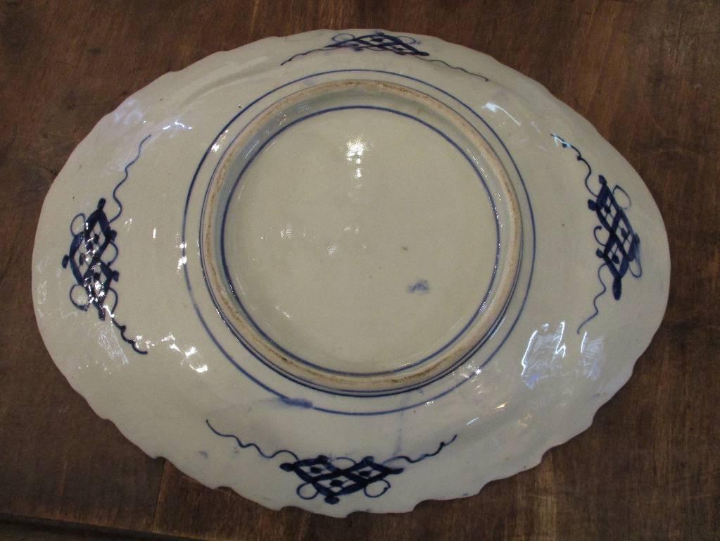Plat en porcelaine IMARI | Puces Privées
