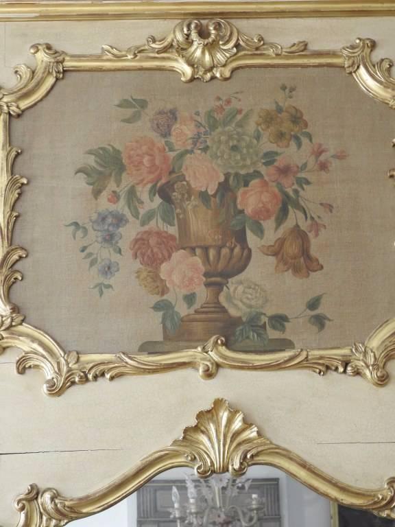Trumeau style LOUIS XV | Puces Privées