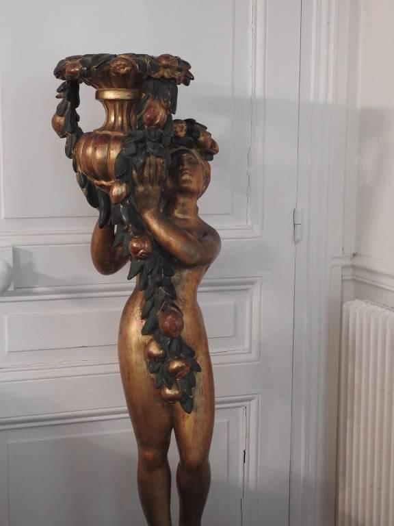 Porte fleur époque XIXéme travail Italien. | Puces Privées