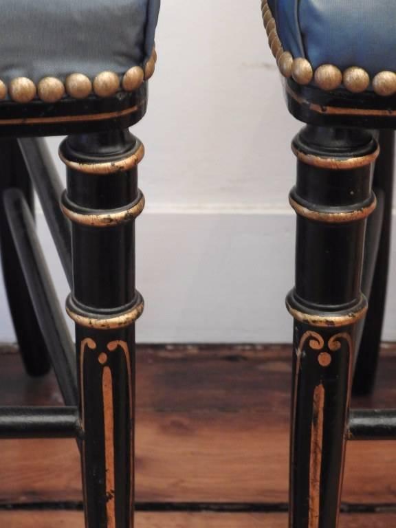 Paire de chaises Napoléon III | Puces Privées