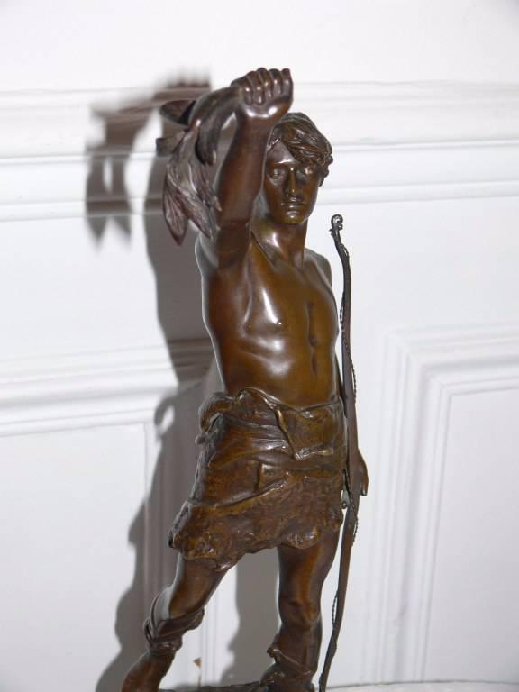 statue en bronze :