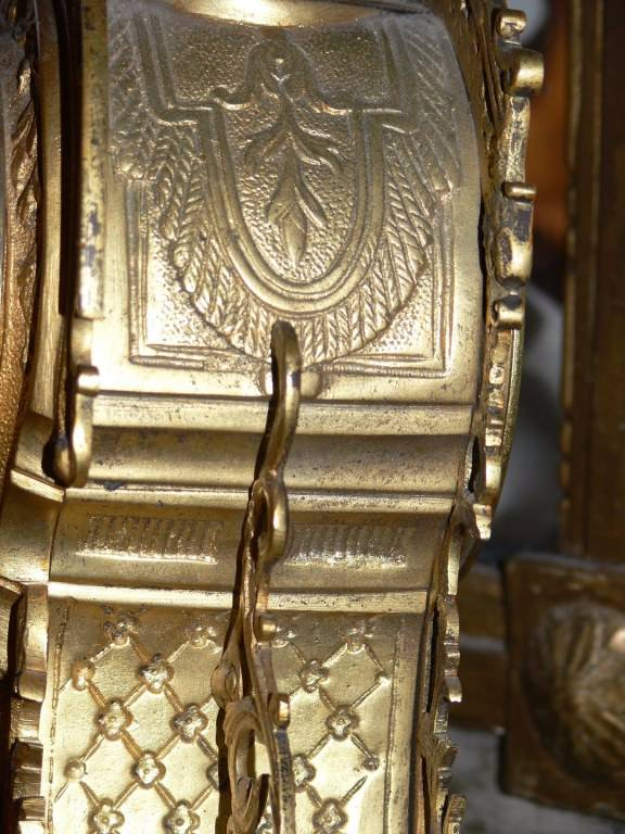 Cartel en Bronze doré époque Fin XIXème siécle | Puces Privées