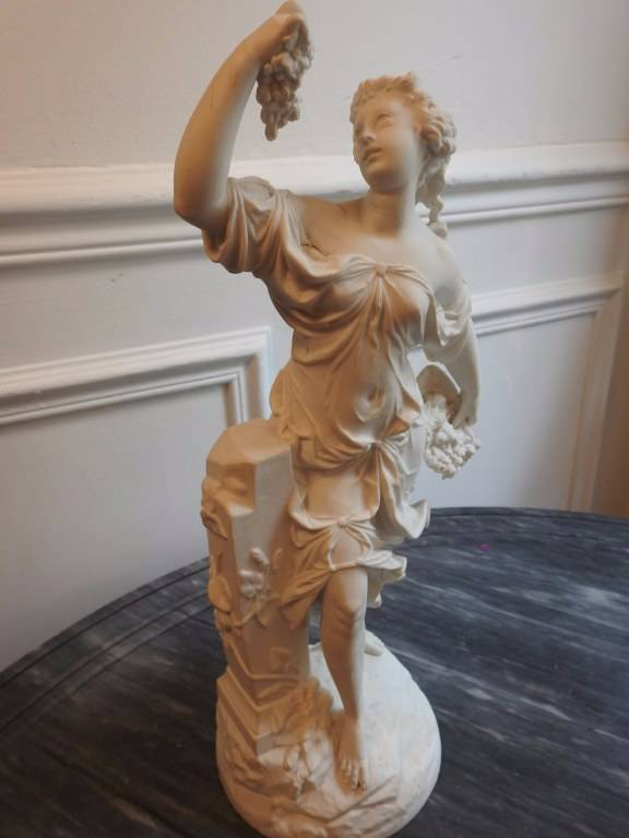 Sujet en biscuit vieux Paris | Puces Privées