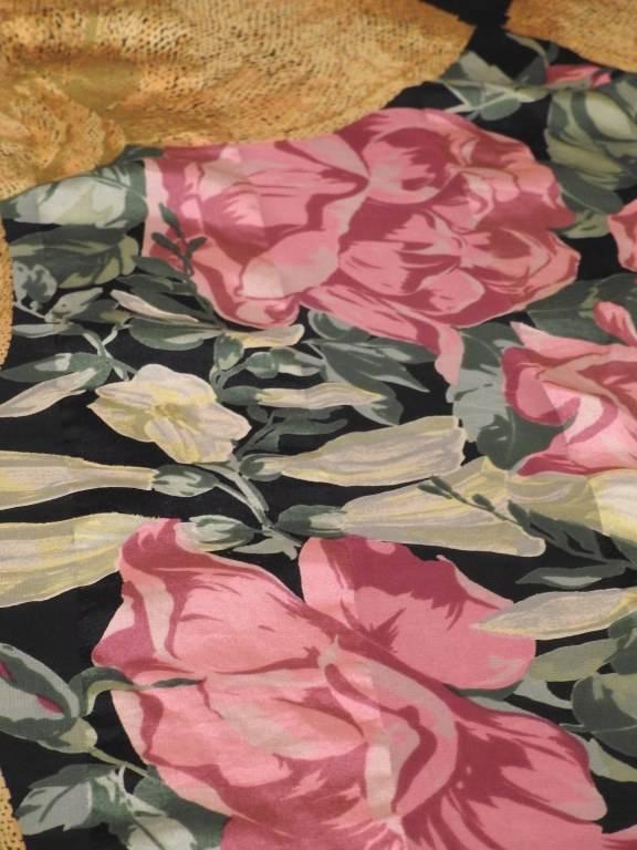 Etole en mousseline de soie Christian Dior | Puces Privées