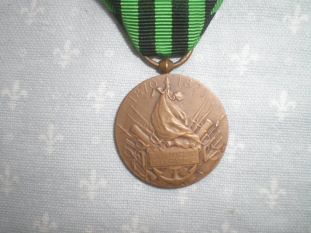 medaille comemorative francaise de la guerre franco allemande de 1870 a 1871 | Puces Privées