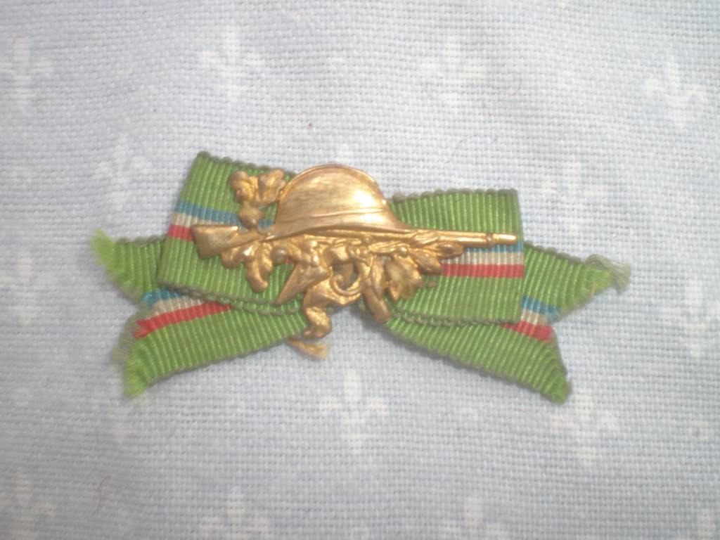 insigne d association d ancien combatant francais de 1 guerre   Puces Privées