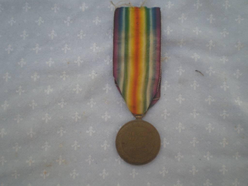 medaille comemorative anglaise de 1 guerre | Puces Privées