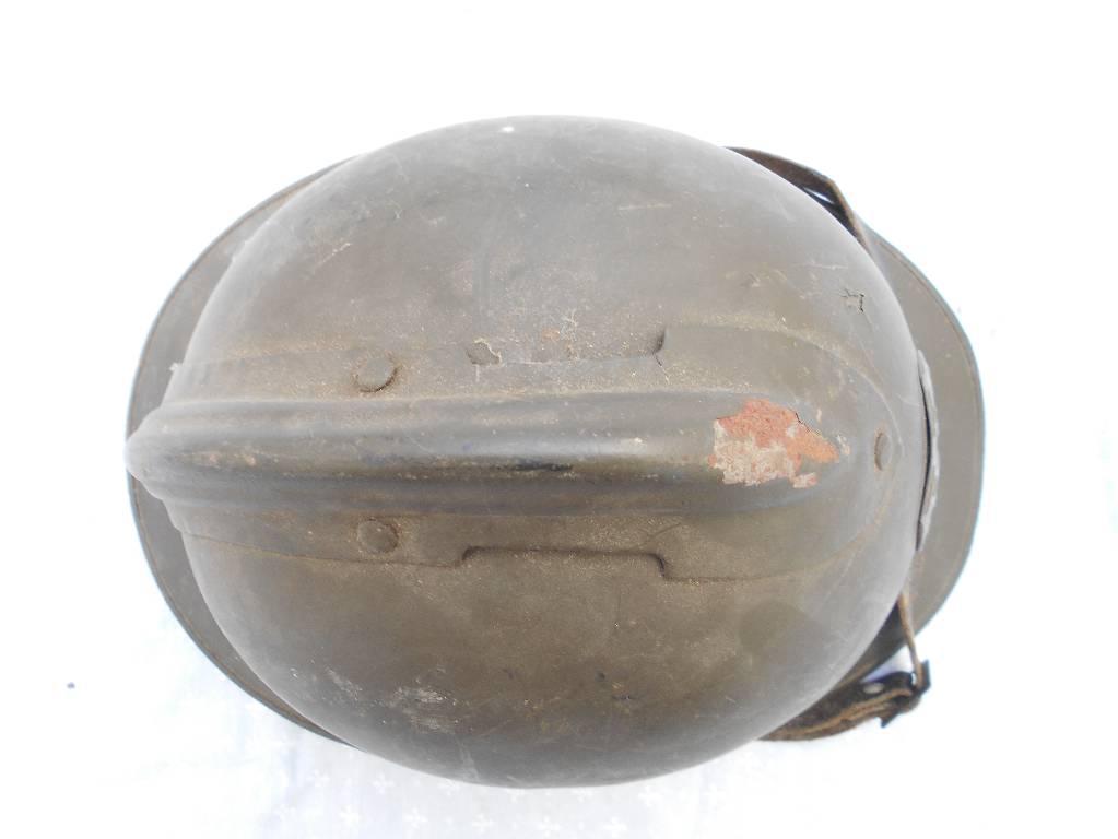 casque de troupe francais de 1 guerre de l armee d afrique   Puces Privées