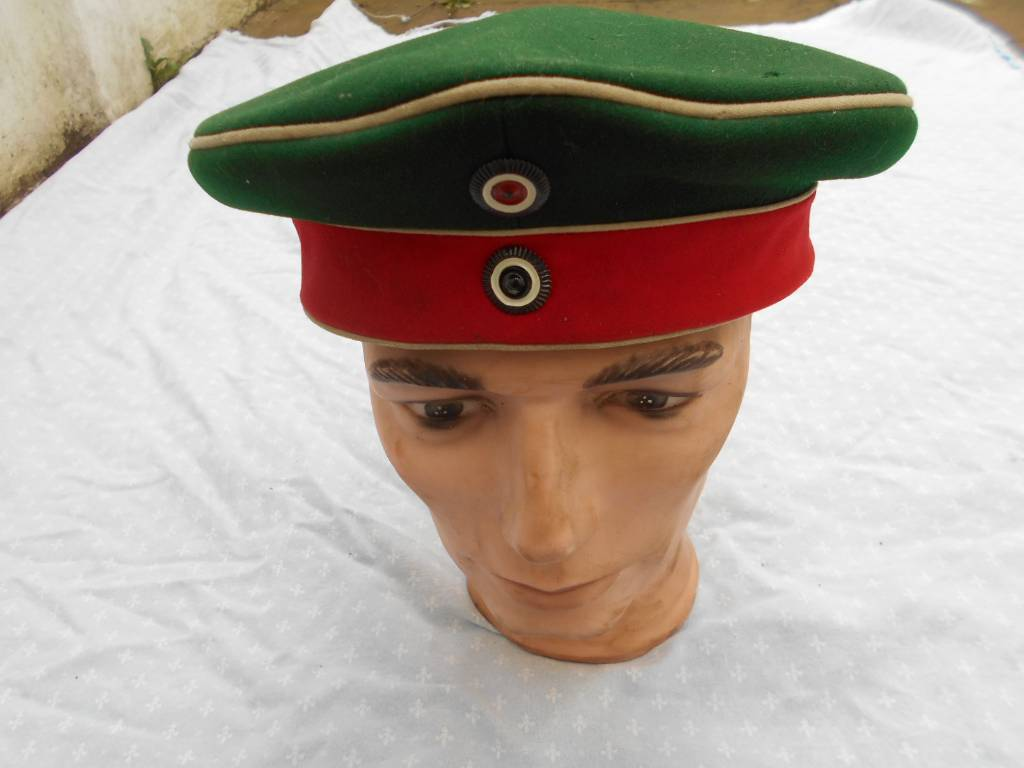 mutze de sous officier et troupe de hussard prussien du 11 regiment guillaume 2 | Puces Privées