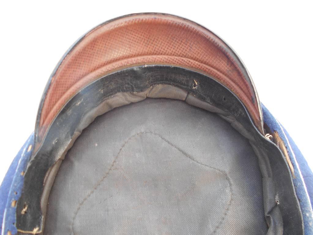 casquette allemande de sous officier reserviste du 14 hussard guillaume 1 guerre 1870 a 1871 | Puces Privées