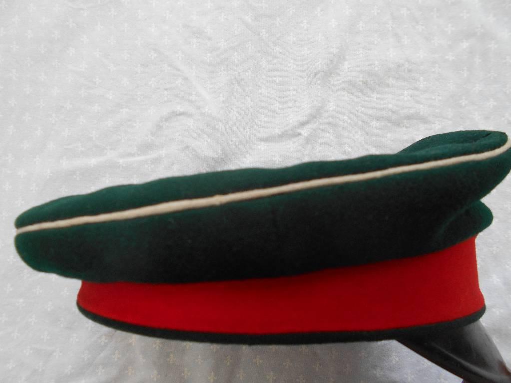 casquette allemande de sous officier reserviste  de hussard allemand du 11 regiment epoque guillaume 1 guerre de 1870 a 1871 | Puces Privées