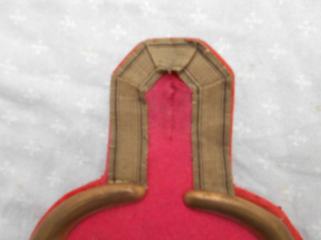 paire d epaulettes allemande epoque imperial guillaume 2 | Puces Privées