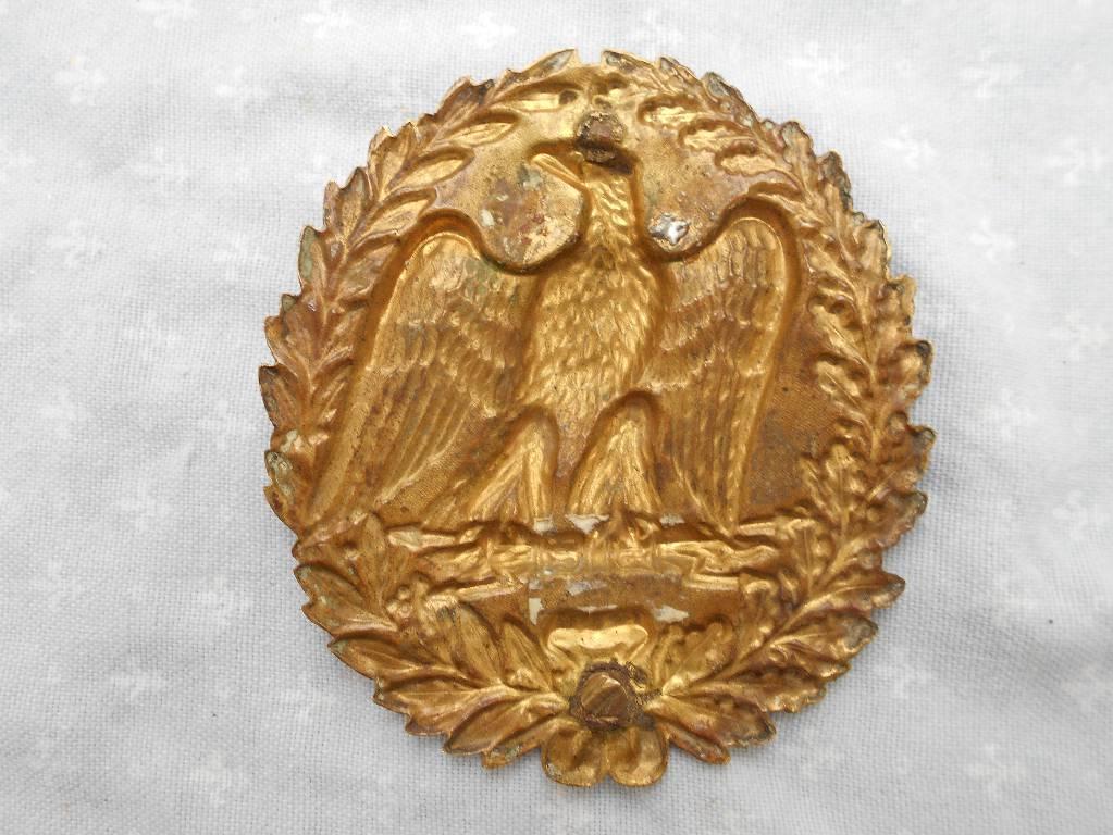 centre de cuirasse de carabinier francais 2 empire   Puces Privées