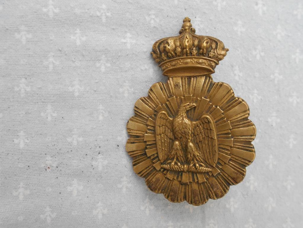 coeur de potrail de troupe de cavalerie francaise de la garde imperial 2 empire | Puces Privées