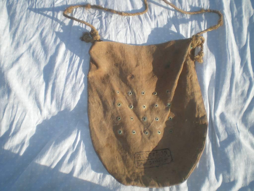 sac mangeoir francais reglementaire de cavalerie de 1 guerre | Puces Privées