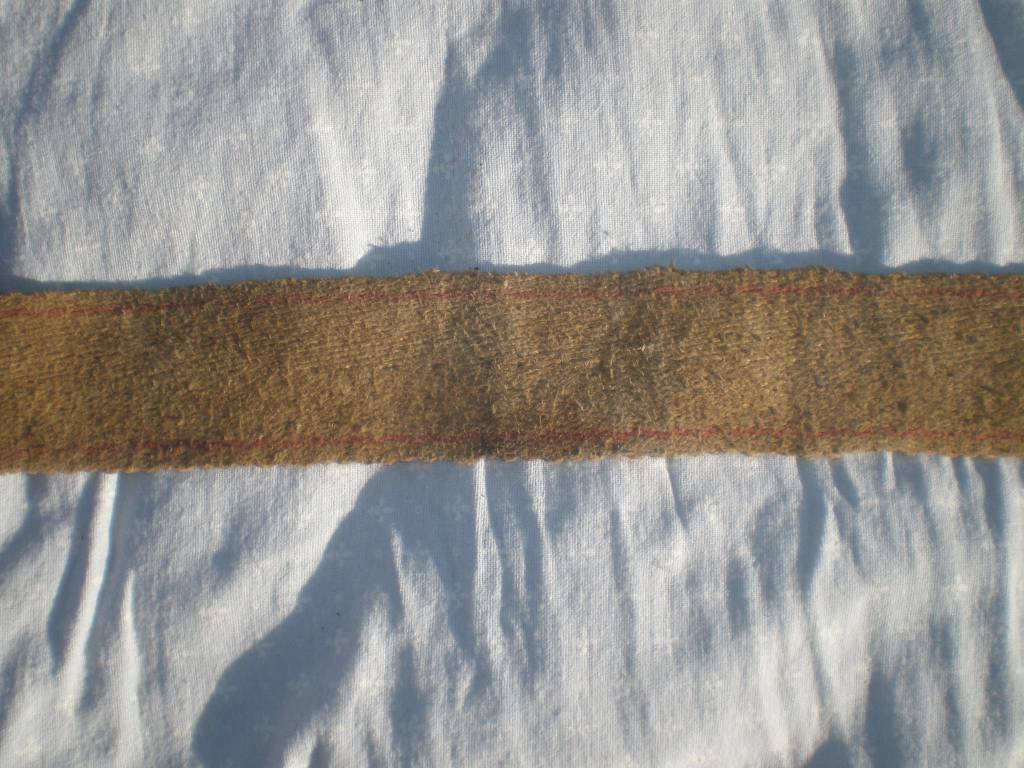 sangle francaise de surfaix de troupe reglementaire modele 1874 de 1 guerre | Puces Privées