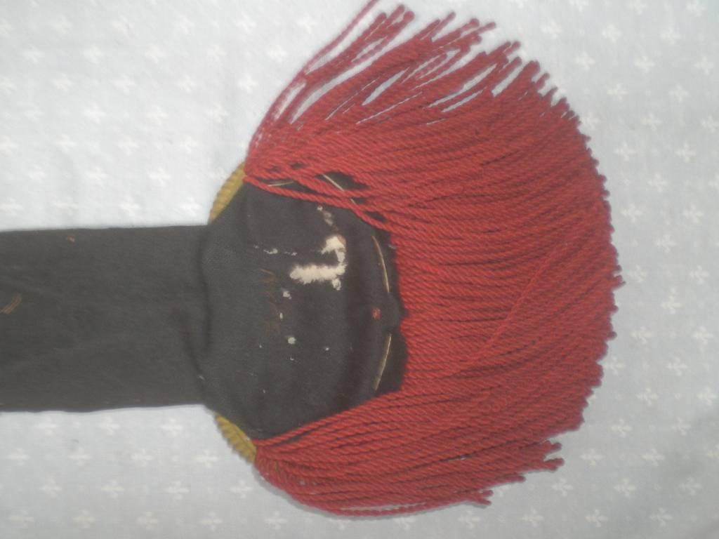 paire d epaulettes de troupe de voltigeur de la garde imperial francaise 2 empire | Puces Privées