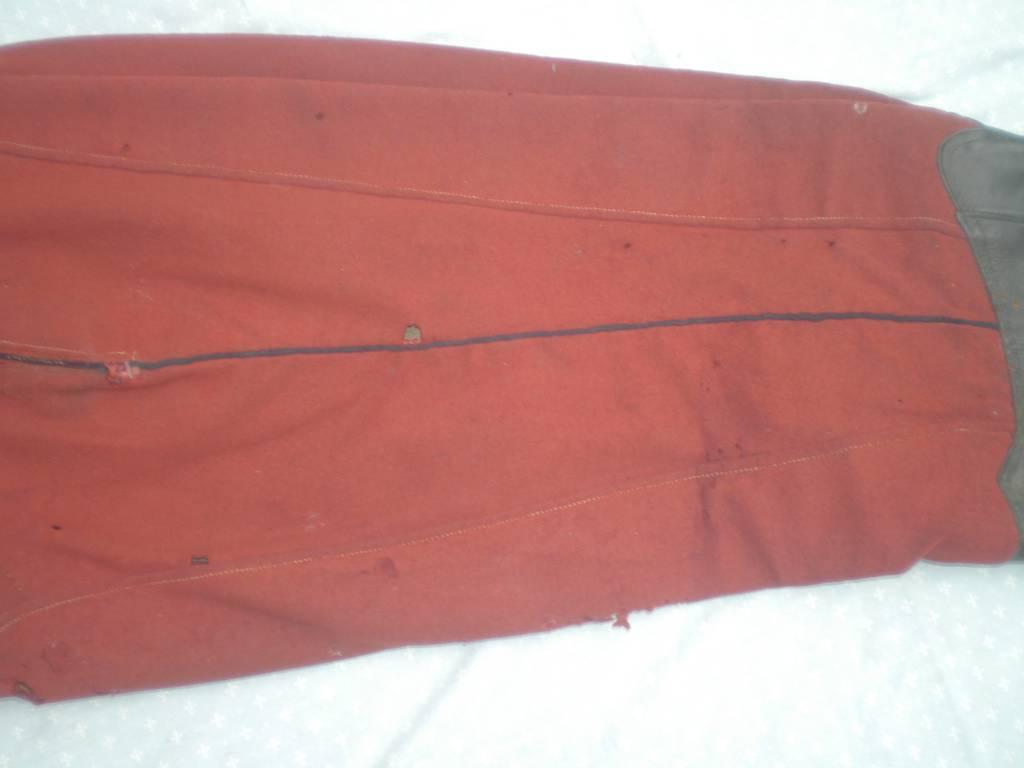 pantalon a basane de cavalerie francaise dragon modele 1872 | Puces Privées