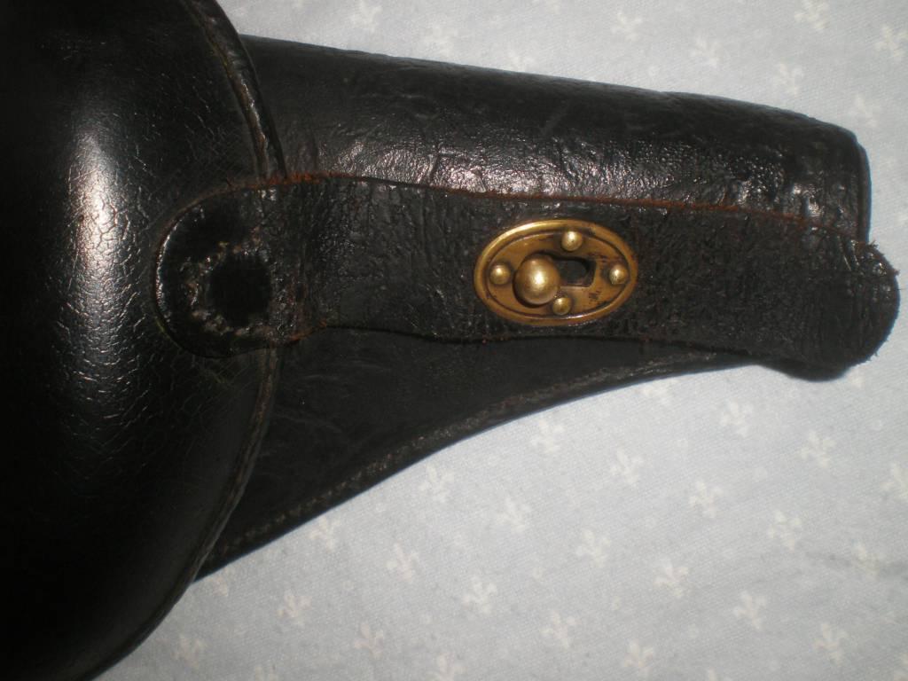 etui de revolver francais modele 1892 de 1 guerre   Puces Privées