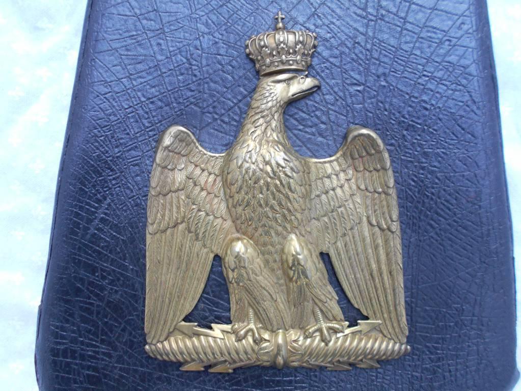 sabretache d officier de cavalerie legere 2 empire | Puces Privées