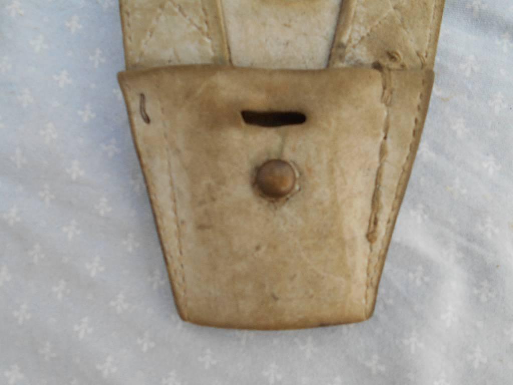 porte baionette francais de troupe de l artillerie a pied de la garde imperial 2 empire | Puces Privées