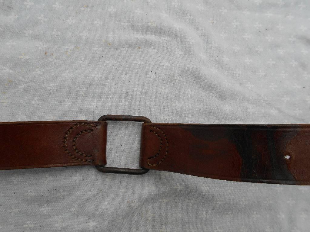 ceinturon de troupe de cavalerie frncaise modele 1884 de 1 guerre | Puces Privées