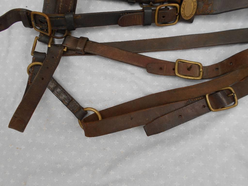 bride de cheval et ces rennes d officier de cavalerie francaise 3 republique | Puces Privées