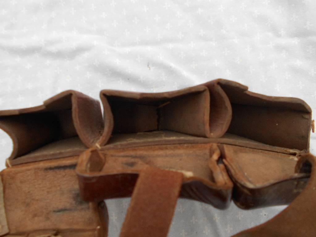 paire de cartouchieres  autrichienne de 1 guerre | Puces Privées