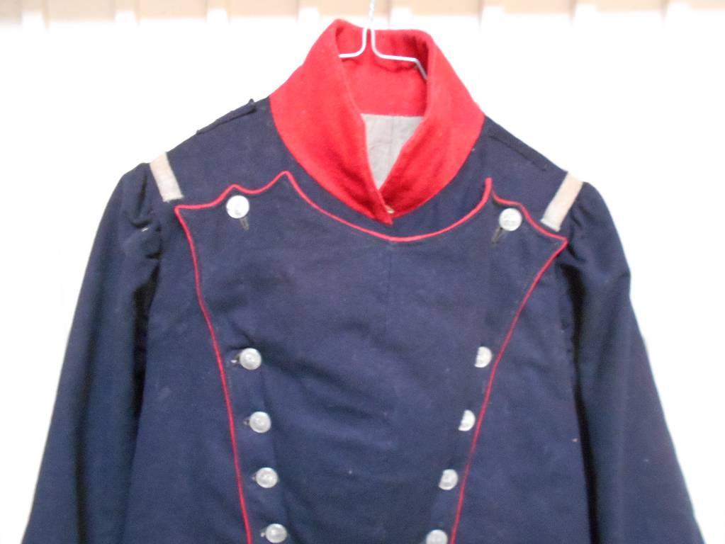 habit de troupe de garde national 1830 louis philippe   Puces Privées