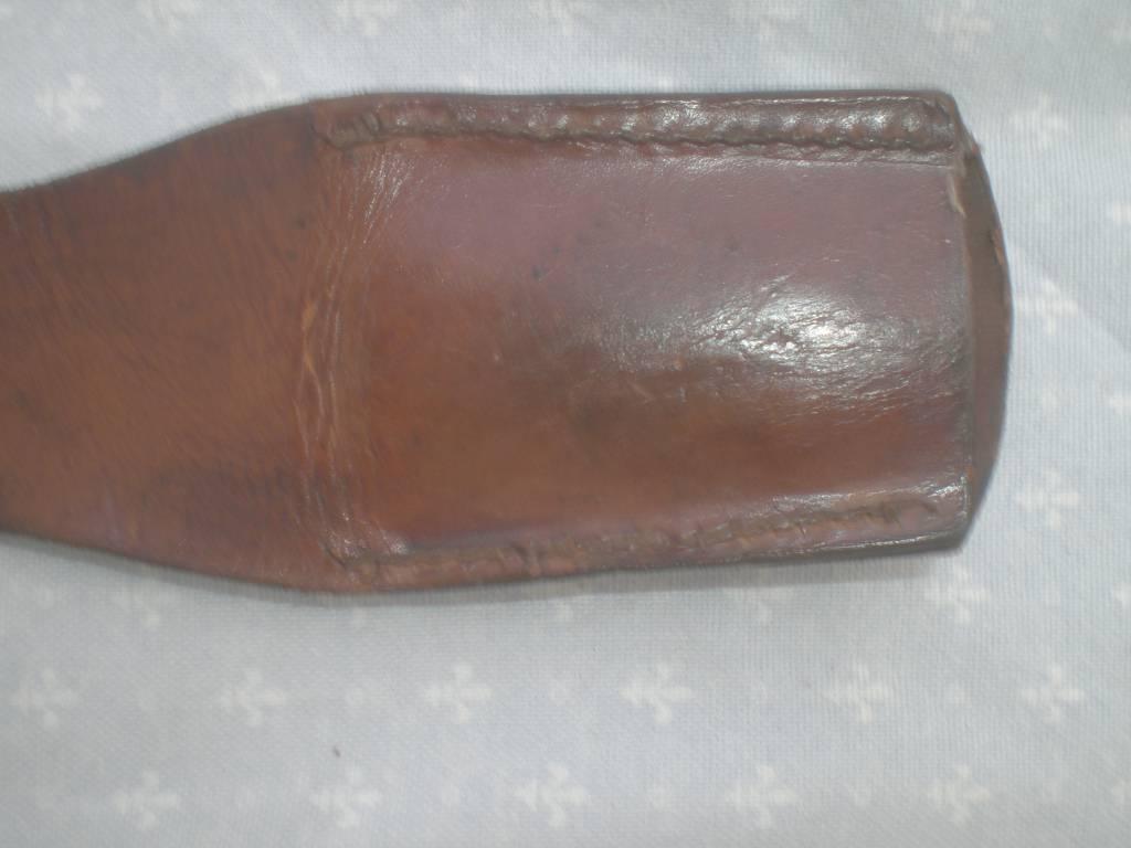porte glaive modele 1831 de sapeur pompier et garde national | Puces Privées