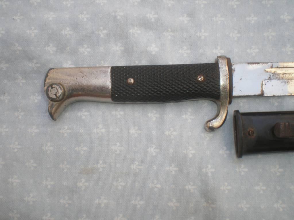 baionette de sous officier allemand de 2 guerre cathegorie d2 vente interdite aux mineur d age de moin de 18 ans   Puces Privées