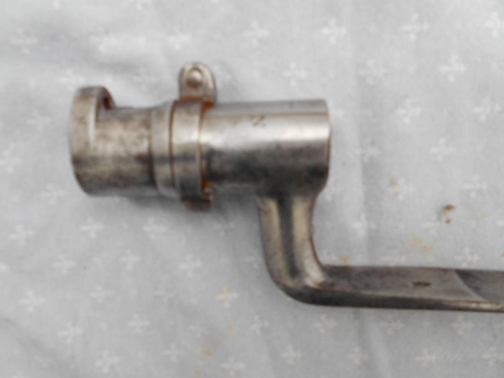 baionette francaise modele 1847  2 empire cathegorie d2 vente interdite au mineur d age | Puces Privées