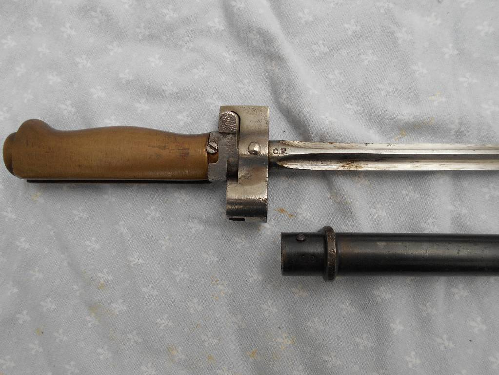 baionette francaise lebel modele 1915 vente interdite aux mineur d age de moin de 18 ans   Puces Privées