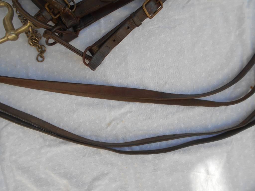 bride de cheval de troupe de cavalerie francaise de 1 guerre | Puces Privées